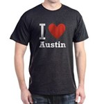 I Love Austin Dark T-Shirt