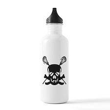 Skullz Lax Sports Water Bottle