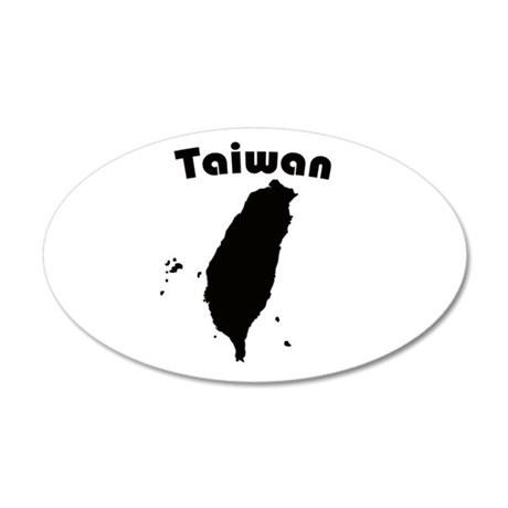 Taiwan 20x12 Oval Wall Peel