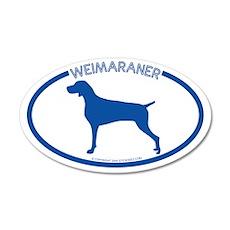 """Weimarner"" - 20x12 Oval Wall Peel"