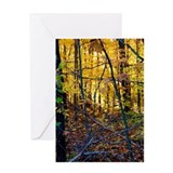 Huckleberry Rock Autumn Greeting Card