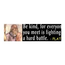 Plato: Be Kind 36x11 Wall Peel