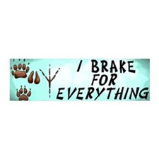 Brake for Everything 20x6 Wall Peel
