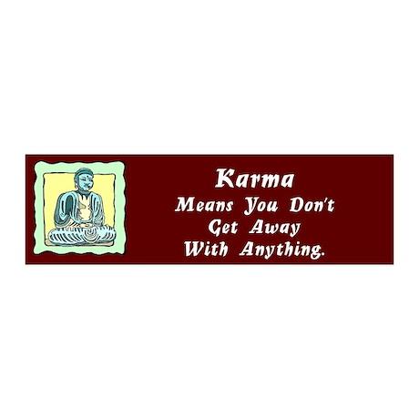 Karma Means 20x6 Wall Peel