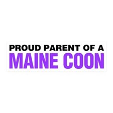 Proud Parent of a Maine Coon Sticker