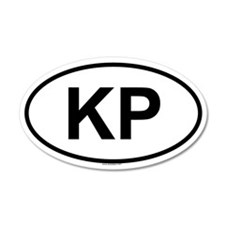 KP 20x12 Oval Wall Peel