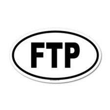 FTP 20x12 Oval Wall Peel