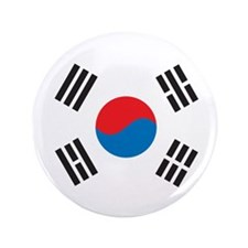 "Unique Korea 3.5"" Button (100 pack)"