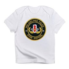 Philadelphia Police Bomb Squa Infant T-Shirt