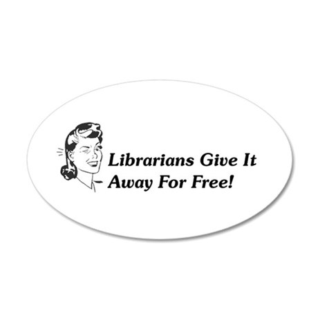 Randy Librarian Sticker
