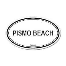 Pismo Beach oval 35x21 Oval Wall Peel