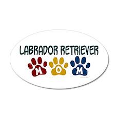 Labrador Retriever Mom 1 35x21 Oval Wall Peel