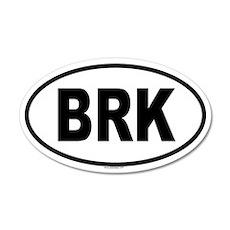 BRK 20x12 Oval Wall Peel