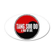 TANG SOO DO Way Of Life Yin Yang 35x21 Oval Wall P