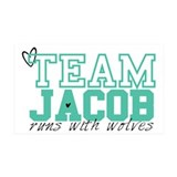 Team Jacob 35x21 Wall Peel