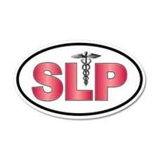 SLP Red 20x12 Oval Wall Peel