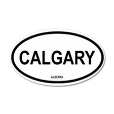 Calgary 20x12 Oval Wall Peel