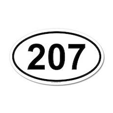 207 20x12 Oval Wall Peel