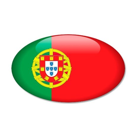 Portugal 20x12 Oval Wall Peel
