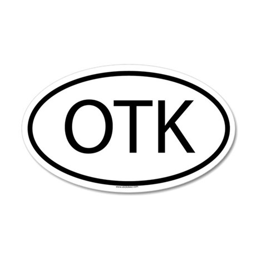 OTK 35x21 Oval Wall Peel