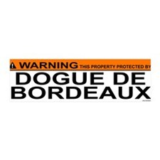 DOGUE DE BORDEAUX 36x11 Wall Peel