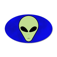 Alien 35x21 Oval Wall Peel