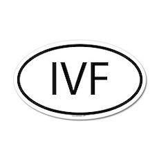 IVF 35x21 Oval Wall Peel