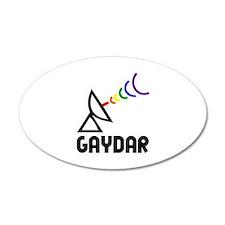 Gaydar 35x21 Oval Wall Peel