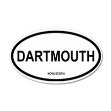 Dartmouth 35x21 Oval Wall Peel