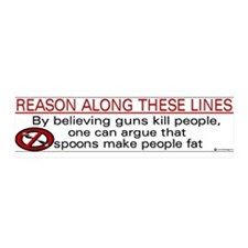 Pro Gun 2nd Amendment bumper sticker