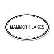 Mammoth Lakes oval 20x12 Oval Wall Peel