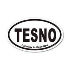 TESNO Gateway to Cape Cod Euro 20x12 Oval Wall Pee