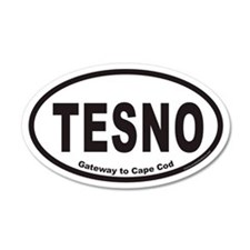 TESNO Gateway to Cape Cod Euro 35x21 Oval Wall Pee