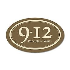 9-12 Principles-Values 35x21 Oval Wall Peel