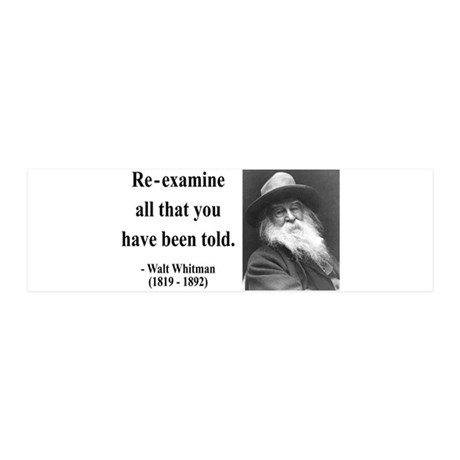 Walter Whitman 11 36x11 Wall Peel