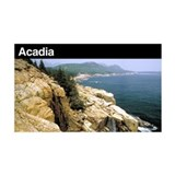 Acadia National Park 35x21 Wall Peel