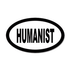 Humanist 20x12 Oval Wall Peel
