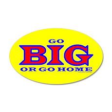 GO BIG! 20x12 Oval Wall Peel