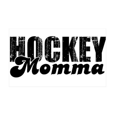 Hockey Mamma 35x21 Wall Peel