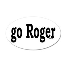 go Roger 35x21 Oval Wall Peel