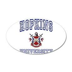 HOPKINS University 35x21 Oval Wall Peel