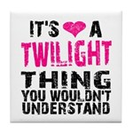 Twilight Thing Tile Coaster