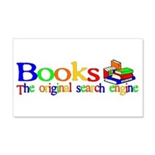 Books The Original Search Engine Sticker (Rectangu