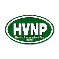 Hawaii Volcanoes National Park 20x12 Oval Wall Pee