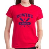 Rowing Chick Tee