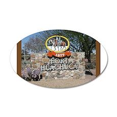 Fort Huachuca 35x21 Oval Wall Peel