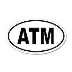 ATM 20x12 Oval Wall Peel