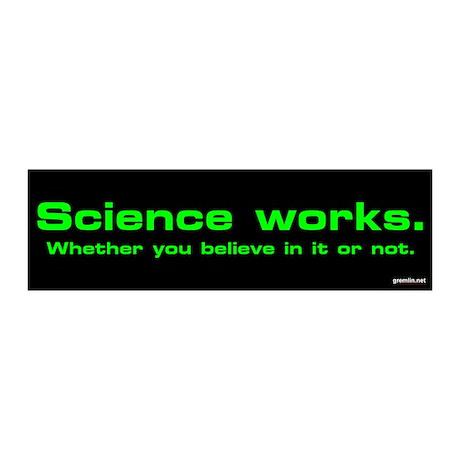 Science Works Thumpersticker