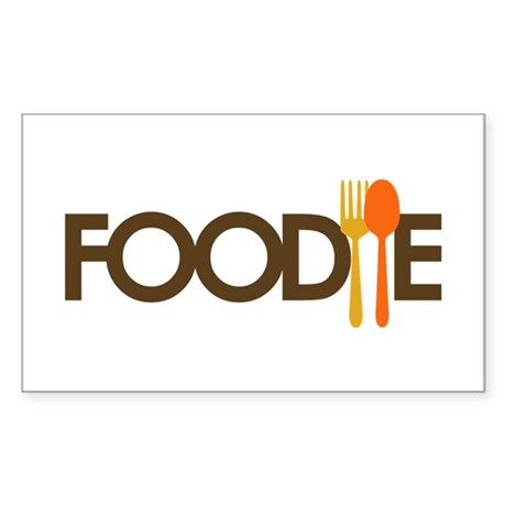 Foodie Sticker (Rectangle)