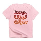 Resden Burp Wind Cryer Infant T-Shirt